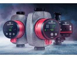 Grundfos презентовал инновационную линейку бытовых насосов ALPHA