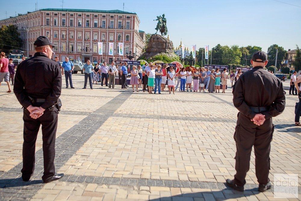 Где в Киеве перекроют движение из-за празднования Дня полиции