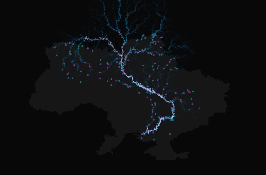 Где больше всего загрязняют реки в Украине — интерактивная карта