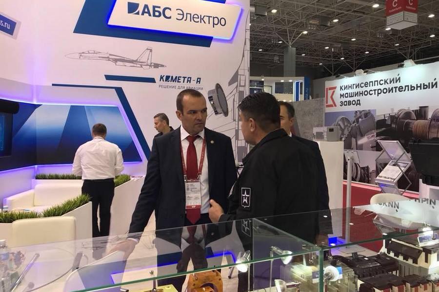 Группа компаний «АБС Электро» представила свою продукцию на выставке «АРМИЯ-2018»