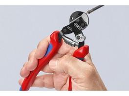 Инновация от KNIPEX: компактный и лёгкий инструмент для реза самого прочного троса и кабеля