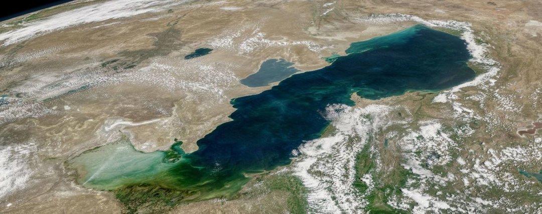 Как поделили дно Каспийского моря