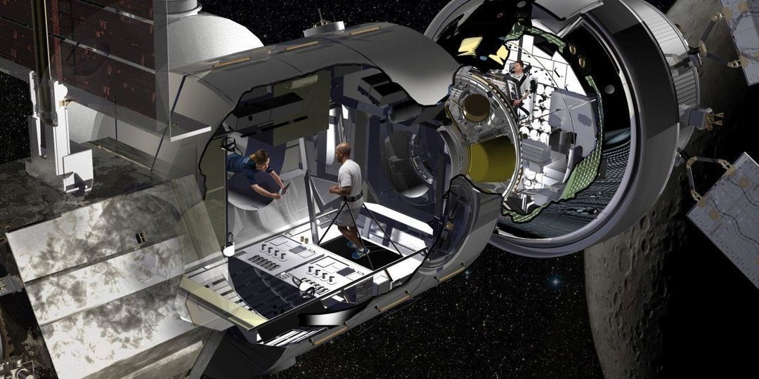 Американская компания показала проект жилья для астронавтов на Марсе