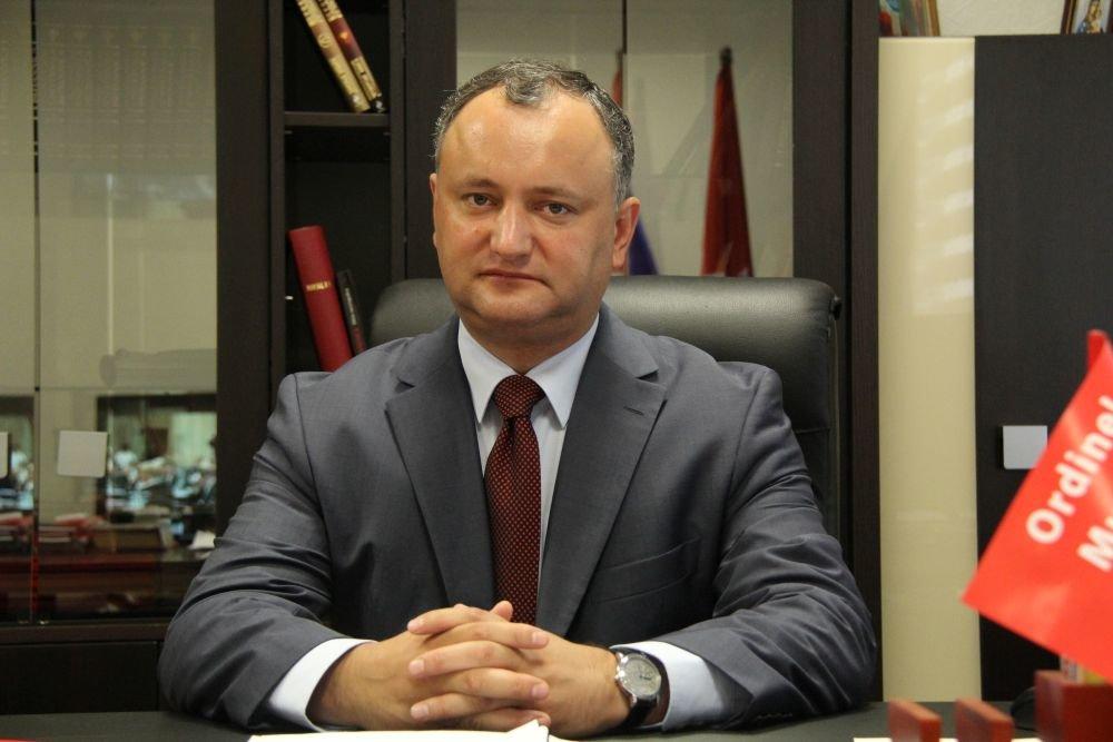 Пророссийский президент Молдовы заявил, что открыт к диалогу с Украиной