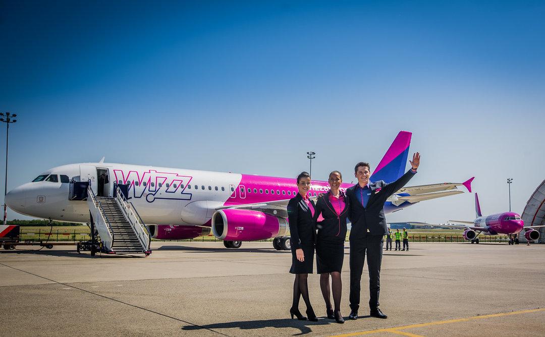 Wizz Air анонсировал пять новых рейсов из Украины в Европу