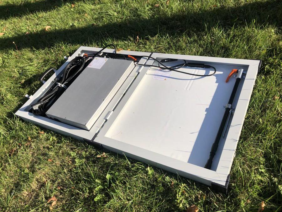 В Петербурге разработали уникальный «чемодан» на солнечных элементах