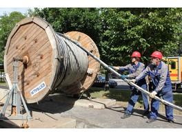 Включена в транзит электроэнергии высоковольтная кабельная линия в районе МЦК «Андроновка»
