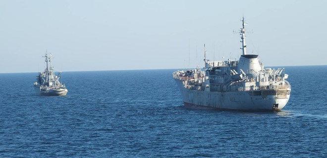 Украинские военные корабли идут в Азовское море через Керченский пролив — СМИ
