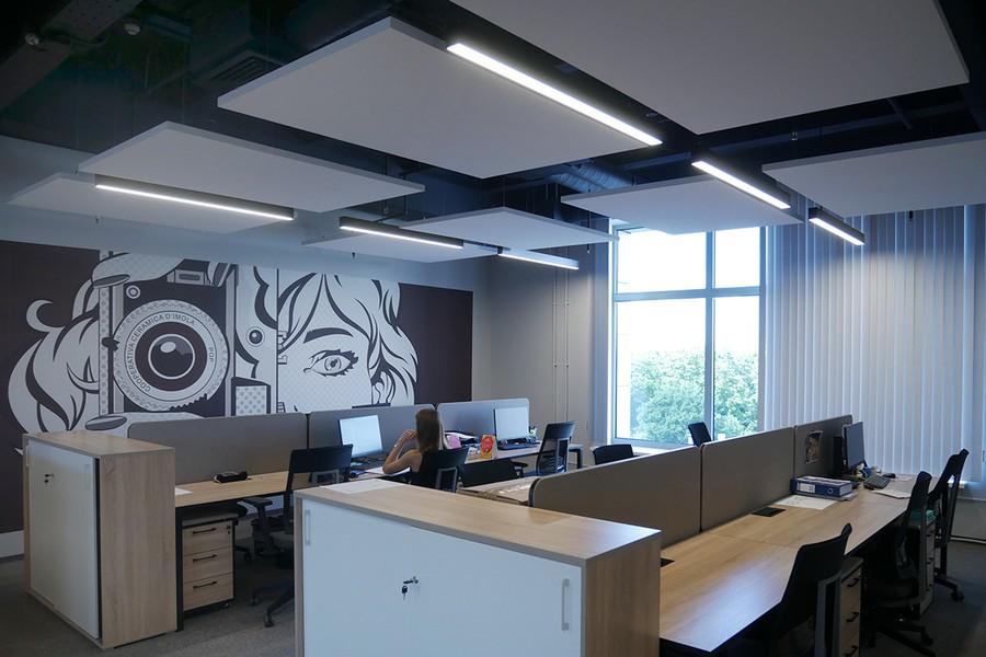 Освещение офиса Perfetti Van Mell