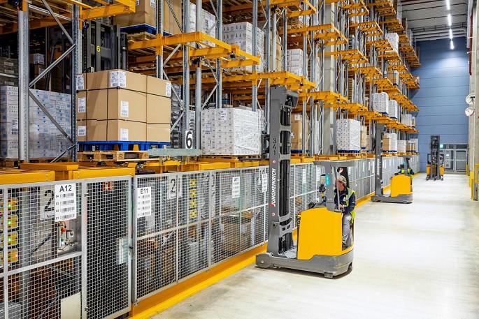 Автоматический склад с инновационным контурным управлением от Jungheinrich для Depro-Kautetzky GbR