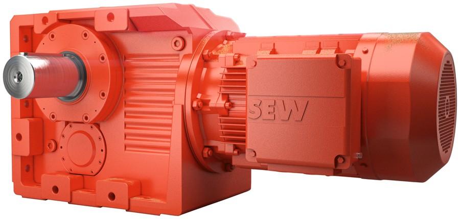 Мотор-редукторы R.167, K..157, K..167 и K..187 с увеличенным крутящим моментом