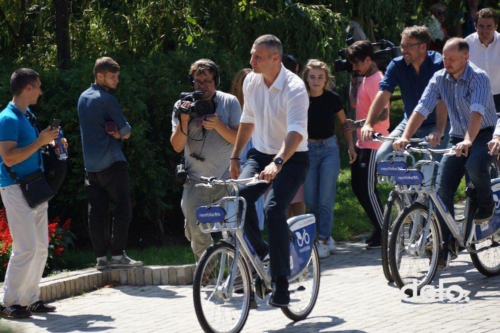 За 2018 год количество велосипедистов в Киеве выросло на 40%
