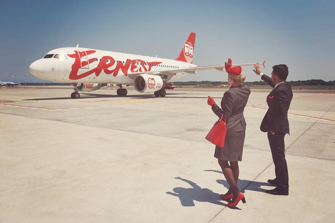Лоукостер Ernest Airlines открывает сообщение с Миланом и Римом из аэропорта Ярославского