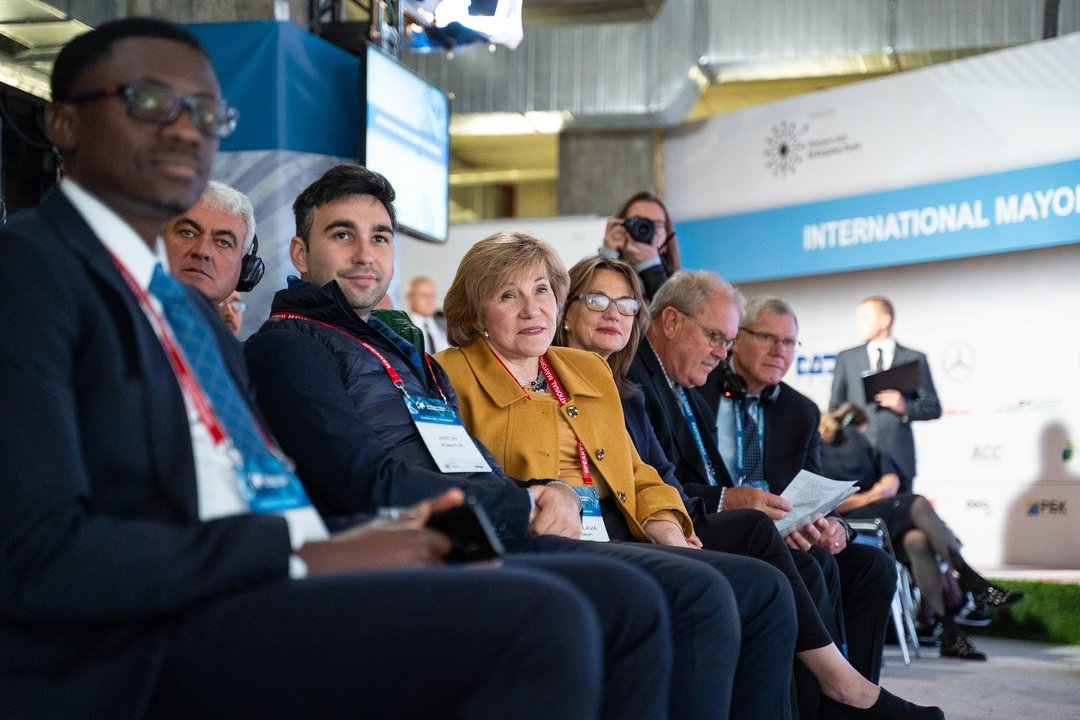 Учора у Києві пройшов третій щорічний Міжнародний саміт мерів
