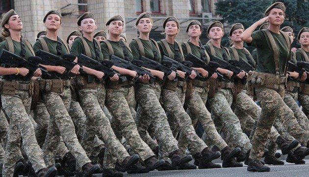 В рядах ВСУ служат 55 тыс. женщин — Порошенко