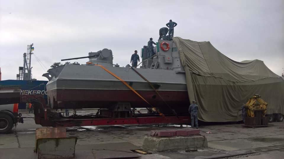 """Катера """"Бердянск"""" и """"Никополь"""" не следовало отправлять в Мариуполь морем — польский OSW"""