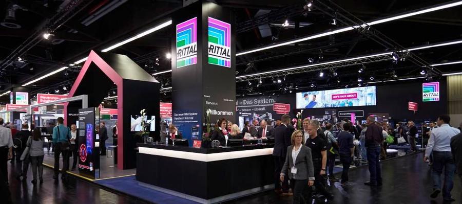 Rittal на выставке SPS IPC Drives 2018
