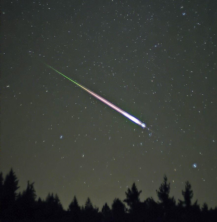 В ночь на 18 ноября будет пик звездопада Леониды