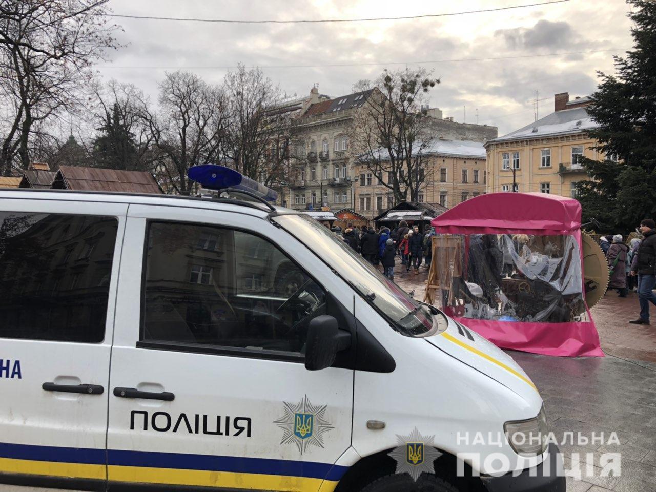 Полиция возбудила уголовное дело из-за пожара на рождественской ярмарке во Львове