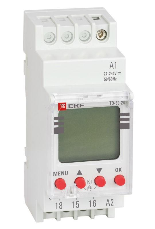 Новые электронные таймеры от EKF