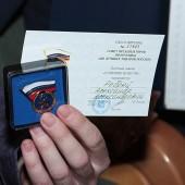 Почетный знак «Отличник качества» получил Александр Ребрей.