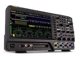 Rigol MSO5000 — новая серия производительных бюджетных осциллографов с сенсорным экраном