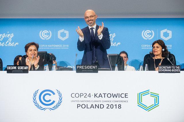 На конференции ООН по климату COP24 договорились по методике торговли квотами