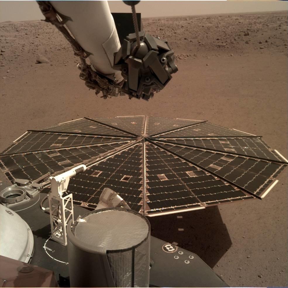 В NASA опубликовали запись шума ветра на Марсе