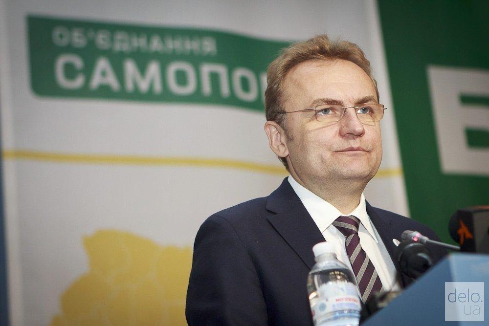 Андрея Садового официально выдвинули в президенты