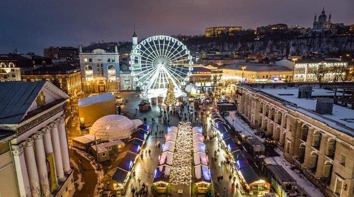 Где в Киеве пройдут празднования Рождества