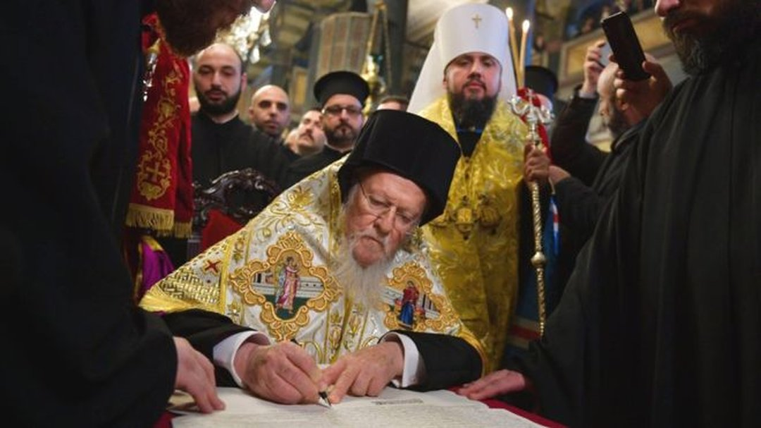 Православная церковь Украины официально получила томос об автокефалии