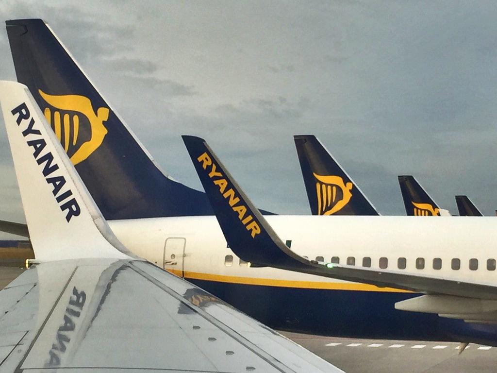 Ryanair осенью откроет 4 новых направления из Киева