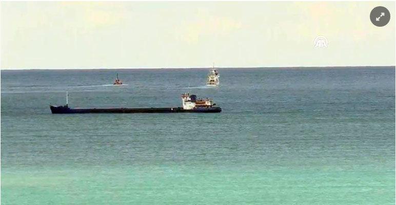 В Черном море у берегов Турции затонуло грузовое судно с украинцами на борту