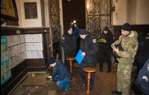 В храме УПЦ МП Сум во время службы 18 января взорвали пиротехническое средство