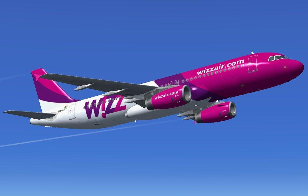 Wizz Air увеличил оплату за малый регистрируемый багаж