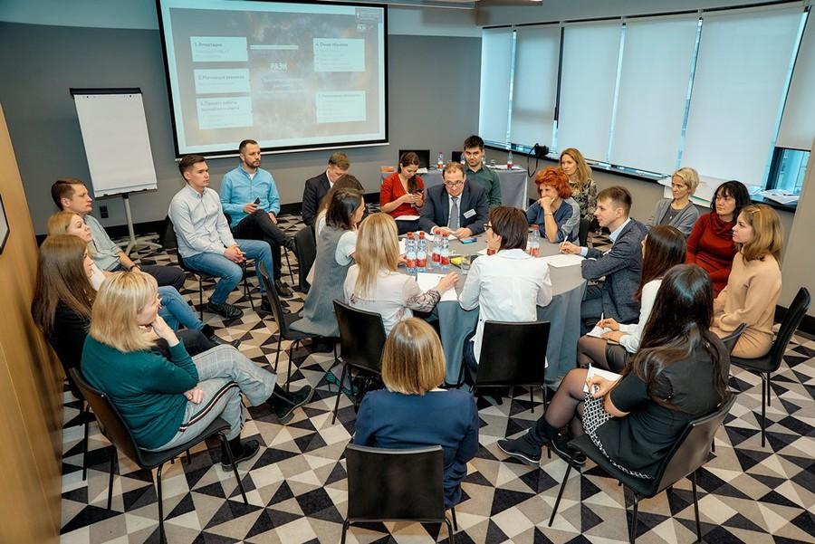 На мероприятии была проведена глобальная работа: были обсуждены задачи, сформированы рабочие группы по интересам