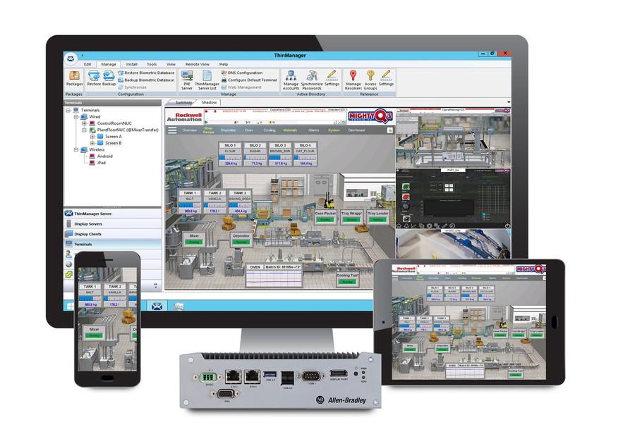 Новое семейство тонких клиентов VersaView 5200 от Rockwell Automation