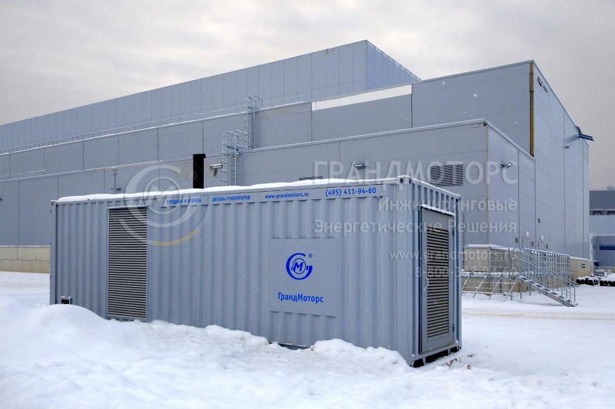 400 кВт резервных мощностей «ГрандМоторс» для «ИКЕА-Есипово»