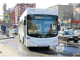 Первые электробусы в Липецке вышли на маршрут
