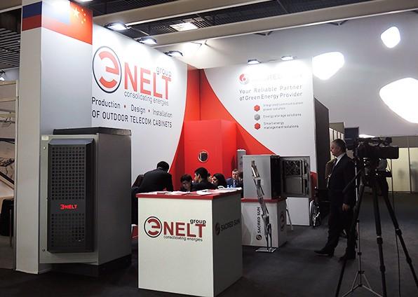 «Группа ЭНЭЛТ» привезла в Барселону решения собственной разработки в области телекоммуникационных шкафов и по воле случая стала единственной компанией, предложившей посетителям вблизи познакомиться с изделиями