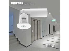 «Вартон» представляет новый аварийно-эвакуационный светильник непостоянного действия Bend