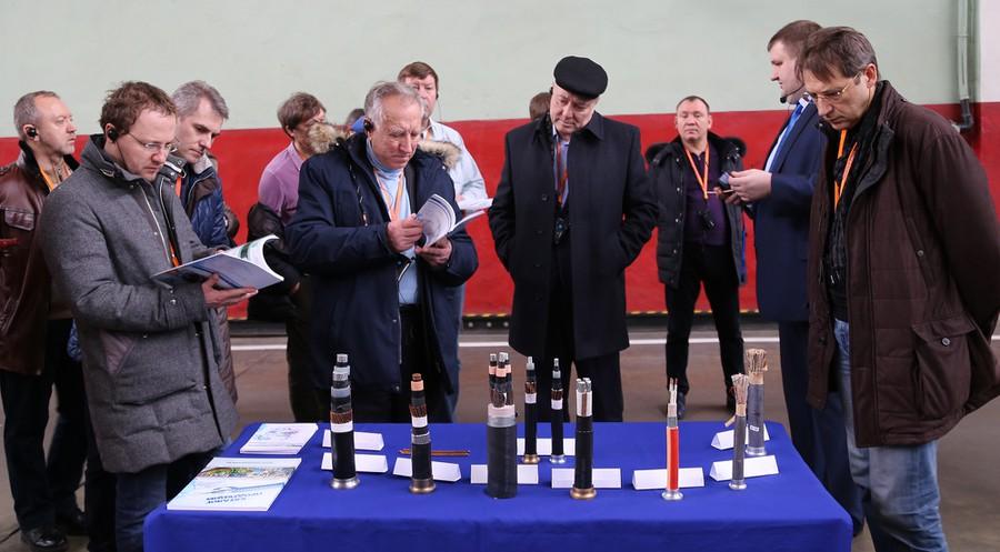 Участники форума посетили производственные цеха ООО «Сарансккабель»