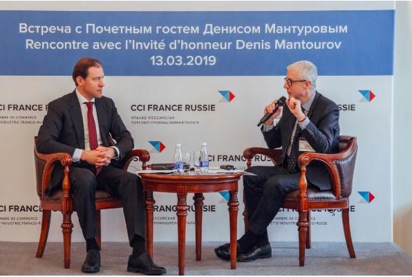 Директор филиала SDMO в Москве принял участие во встрече с Министром промышленности и торговли РФ