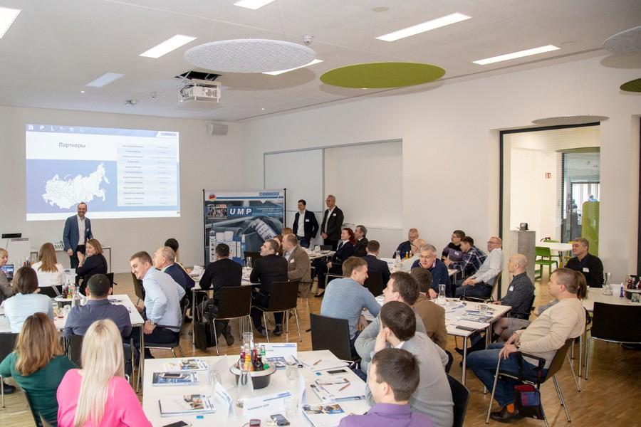 WEICON, ЮМП и партнеры вместе подводили итоги 2018 года, делились своими наработками и интересным проектами и обсуждали перспективы на 2019 год.