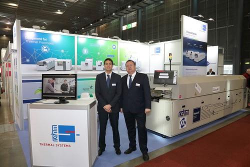 Компания Rehm Thermal Systems появится на трех основных выставках для восточноевропейской электронной промышленности