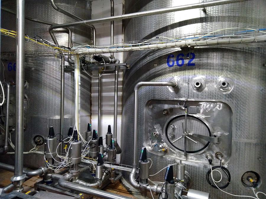 На Вологодском молочном комбинате разработана и внедрена автоматизированная система управления буферными емкостями осмотической воды