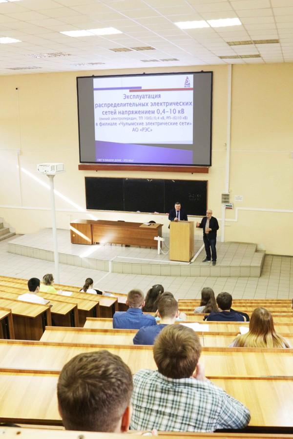 Специалисты АО «РЭС» завершили ежегодный цикл лекций для студентов НГТУ