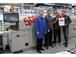 Компания Rehm поставила в адрес Endress + Hauser пятую по счету систему конвекционной пайки