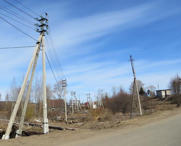 «Великоустюгские электрические сети» провели переустройство участка линий электропередачи в поселке Новатор