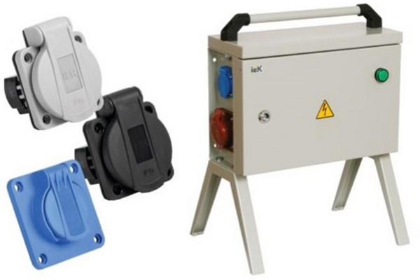 Панельные розетки с крышкой серии MAGNUM IEK® — надежное электроснабжение в сложных условиях